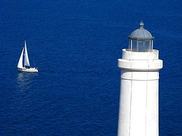 Lighthouse, Capo Otranto, Puglia, Italy