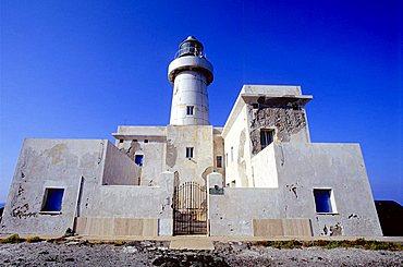 Lighthouse, Pantelleria island, Sicily, Italy