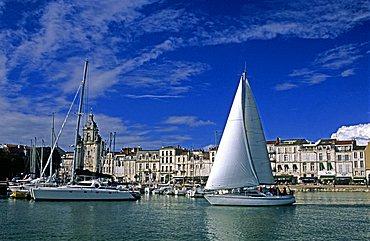 Old harbour, La Rochelle, France, Europe