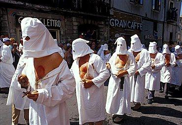 Septennial feast of Battenti, Guardia Sanframondi, Campania, Italy