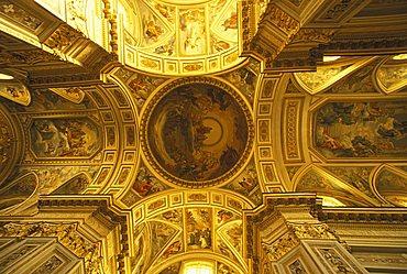 Church, Santissima Trinità benedictine abbey, Cava de' Tirreni, Campania, Italy