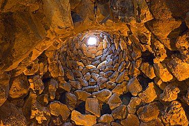 Su Nuraxi, nuraghic archaeological site, Barumini, Sardinia, Italy, Europe