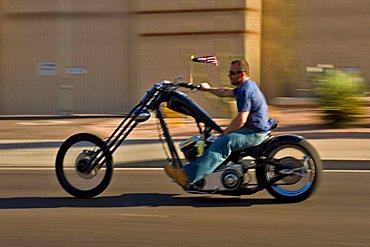Motorcycle, Phoenix, Arizona, United States of America, North America