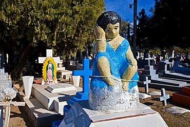 Cemetery, Alamos, Sonora, Mexico, Central America