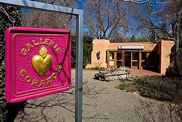 Gallerie Corazon, Santa Fe, New Mexico, United States of America, North America