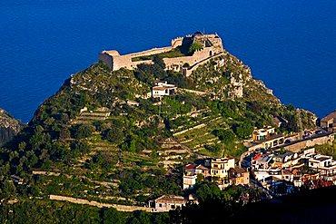 Castle, Taormina, Sicily, Italy