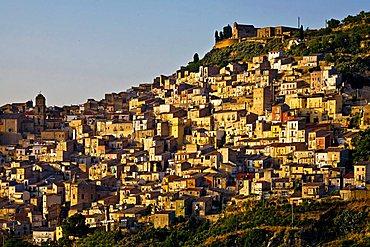 Cityscape, Leonforte, Sicily, Italy