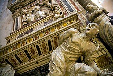 Monument, Sant'Agata Cathedral, Catania, Sicily, Italy, Europe