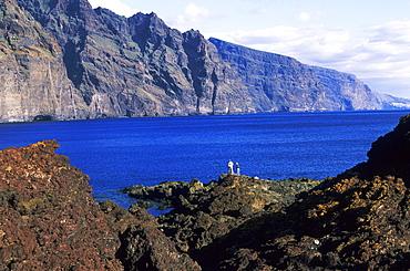 Coast named Los Gigantes from Punta del Teno, Tenerife, Canary Islands, Spain, Europe