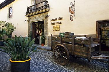 Casa Molina (Casa del Turista) 1590, La Orotava, Tenerife, Canary Islands, Spain