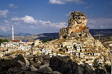 Ortahisar village, Cappadocia, Turkey, Europe