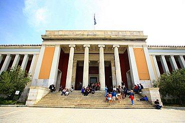 Museum, Metro Syntagma, Athens, Greece, Europe