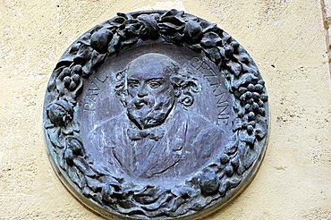 France, Provence, Aix en Provence, Paul Cezanne tablet