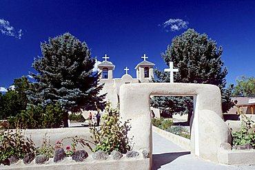 San Francisco de Asis Mission, New Mexico, USA