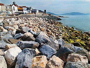 Jurassic Coast, World Heritage Site, Lyme Regis, West Dorset, England, Great Britain
