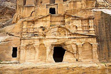 Middle East, Jordan, Petra, the ancient nabatean capital