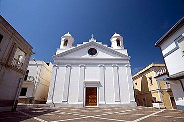 S. Maurizio church, Calasetta, Provincia di Carbonia e Iglesias, Sardinia, Italy, Europe