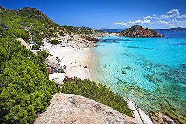 Cala Corsara, Isola di Spargi island, La Maddalena (OT), Sardinia, Italy, Europe