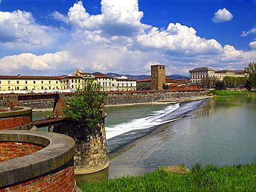 Arno river,Florence, Tuscany, Italy, Europe, UNESCO World Heritage Site