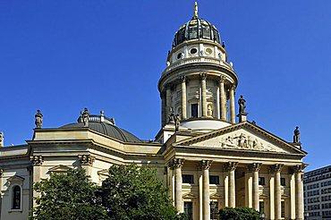 German Cathedral, Gendarmenmarkt square, Mitte district, Berlin, Germany, Europe