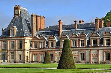 The Palace of Fontainebleau, Seine-et-Marne, Ile-de-France, France, Europe