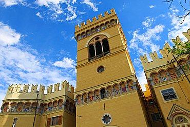 Hall of Arenzano Park, Arenzano, Ligury, Italy, Europe