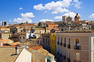 Torre di S.Pancrazio tower, Cattedrale di S.Maria, Castello, Cagliari, Sardinia, Italy, Europe