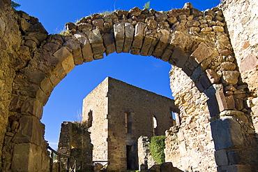 Parco Aymerich, Castello Medioevale, Laconi, Provincia di Oristano, Sardinia, Italy