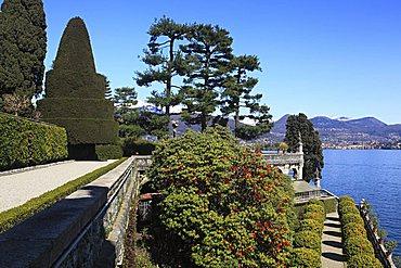 Terraced garden, Isola Bella, Borromean Islands, Lago Maggiore, Piedmont, Italy