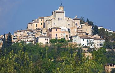 Cityscape, Loreto Aprutino, Abruzzo, Italy