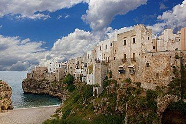 Cityscape, Polignano a Mare, Puglia, Italy