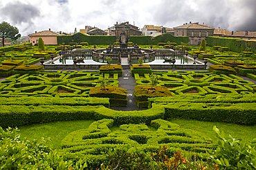 Quadrato fountain on the Italian Garden, Villa Lante, Bagnaia, Lazio, Italy