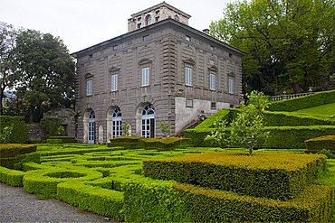 Palazzina Montalto, Villa Lante, Bagnaia, Lazio, Italy