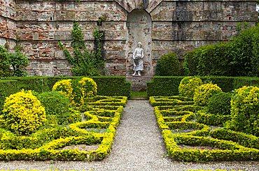 Italian garden, Villa del Vescovo, Villa Marlia, Capannori, Tuscany, Italy