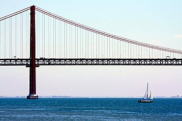 Bridge 25th april, Lisboa, Portugal, Europe