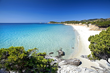 Cala Piscadeddus bay, Capo Boi, Villasimius (CA), Sardinia, Italy, Europe