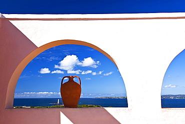 Faro e Scoglio di Mangiabarche, Calasetta (CI), Sardinia, Italy , Europe