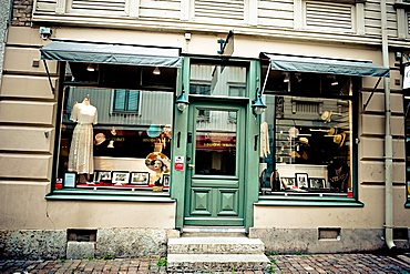 Vintage shop, Haga, Goteborg; West Coast; Sweden; Europe
