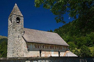 Chiesa di San Vigilio church,  Pinzolo, Val Rendena, Valli Giudicarie, Trentino Alto Adige, Italy, Europe