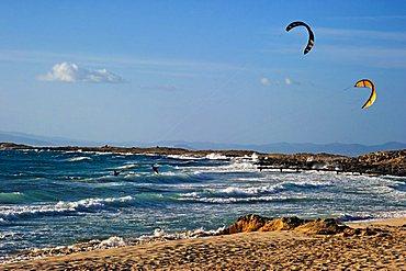Kite, Formentera, Balearic Islands, Spain, Europe