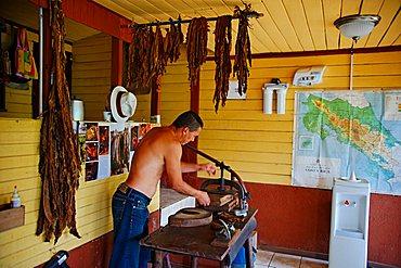 Cigars factory, Republic of Costa Rica, Central America