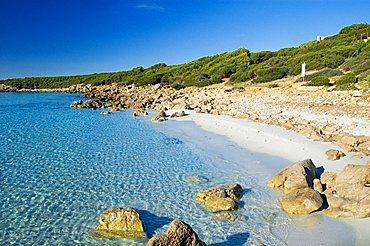 Su Portu de su Trigu, Sant'Anna Arresi, Iglesias, Sardinia, Italy, Europe