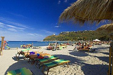 Poetto beach, Cagliari, Sardinia, Italy, Europe