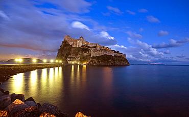 Aragonese castle, Ischia,Campanbia,Italy,Europe.