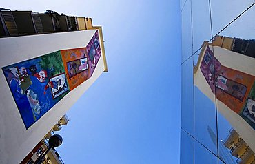 Salvator Rosa building, Naples,Campania,Italy,Europe