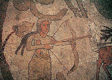 Cathedral, mosaic floor, Otranto, Salento, Apulia, Italy, Europe