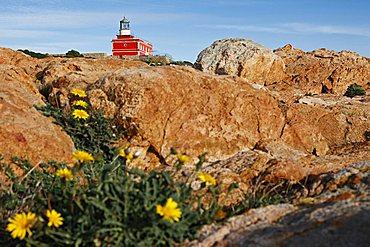 Light house of Capo Spartivento, Domus de Maria , Sardinia, Italy, Europe
