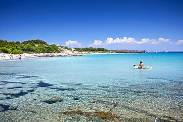 Spiaggia Guidi beach, Carloforte (CI) , Sardinia, Italy, Europe