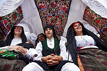 Sant'Efisio traditional event, the most important religious feast in Sardinia, Cagliari (CA), Sardinia, Italy, Europe