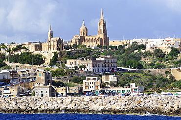 Harbour, Mgarr, Gozo island, Malta, Europe